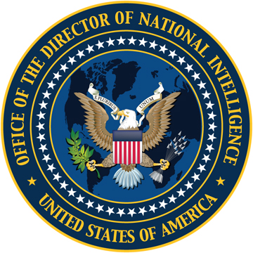 Seal of the Office of the Director of National Intelligence