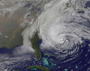 2012 - Hurricane Sandy formed (dissipated 10/31)