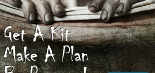 CDC Emergency kit planning resources and zombies