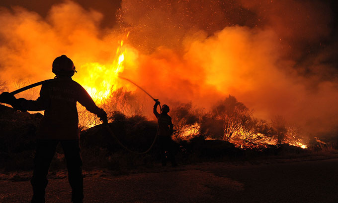 Sockeye Wildfire, Alaska 2015 - CDC