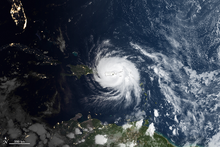 Hurricane Maria Lashes Puerto Rico - NASA