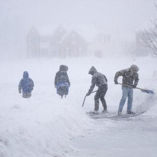 Winter Storm Shoveling