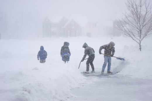 Winter Storm Shoveling