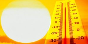 Hot Sun, rising temperature
