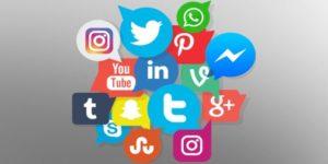 Social Media apps icons. Twitter
