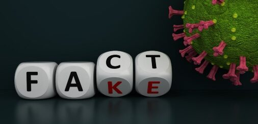 Dissemination of fact-based COVID-19 information, misinformation and disinformation.