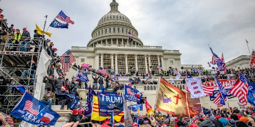 U.S. Capitol Riot with extremists and white supremacists.
