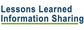 LLIS Lessons Learned Information Sharing