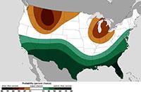 El Niño map